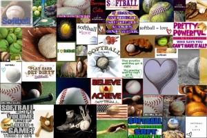 SoftballCollage