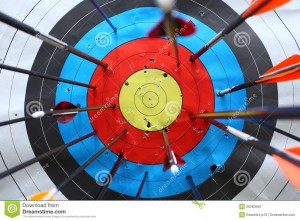 http://www.dreamstime.com/royalty-free-stock-images-arrows-miss-target-image26060569